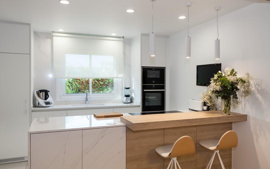 Detalls que marquen el disseny d'una cuina amb classe